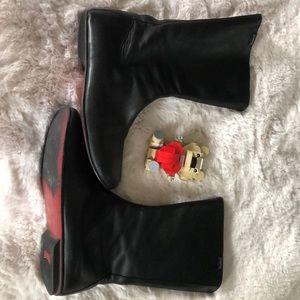 Half boots black leather CAMPER